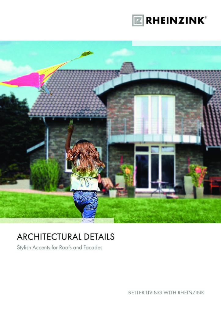 Rheinzink Architectural Details