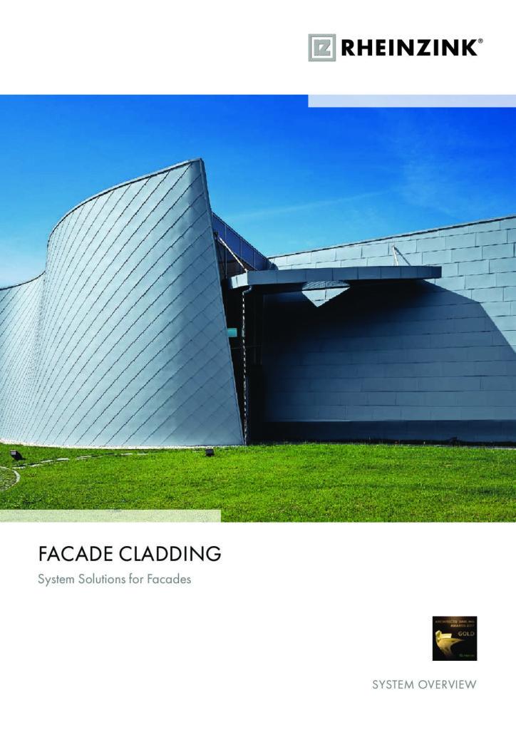 Rheinzink Facade Cladding