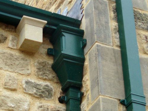 Cast Aluminium Gutters Amp Downpipe In Dublin Metclad Ie