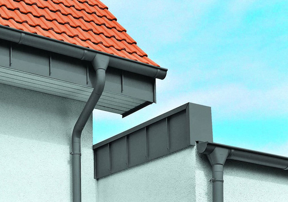 Zinc Gutters And Downpipes In Dublin Metclad Ie